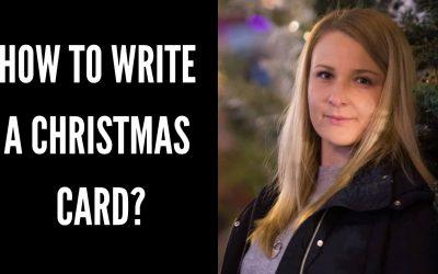 How to Write a Christmas card? – Phrases, Vocabulary and Expressions