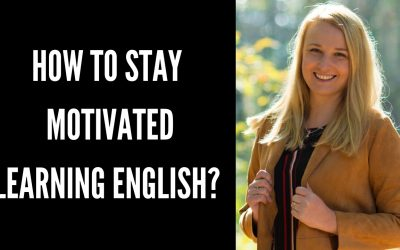 How to stay motivated learning English?