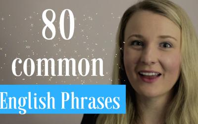 80 Common English Phrases