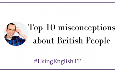 Top 10 misconceptions about British People (Interview with OLA English with Greg)