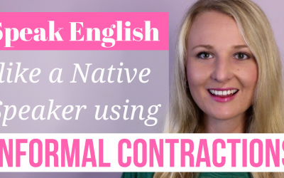 Informal Contractions in English