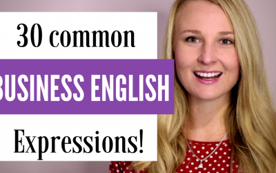 30 Common Business English Expressions