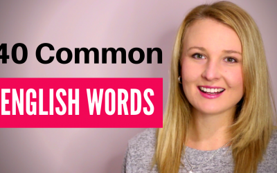40 Common English Words
