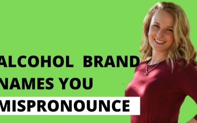 How to Pronounce Alcohol Brand Names Correctly in English