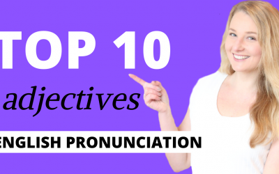How to Pronounce TOP 10 ENGLISH ADJECTIVES