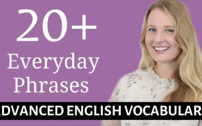 20 English Phrases with GO