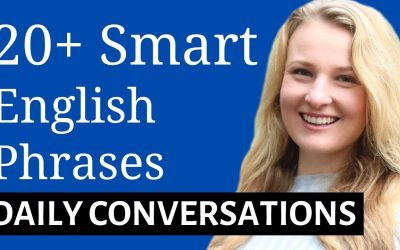 20+ SMART ENGLISH PHRASES FOR WORK