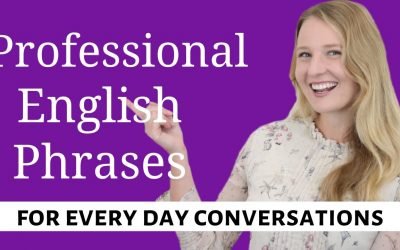 Most Common Professional English Phrases