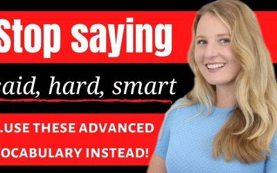 Stop saying Hard, Smart and Said