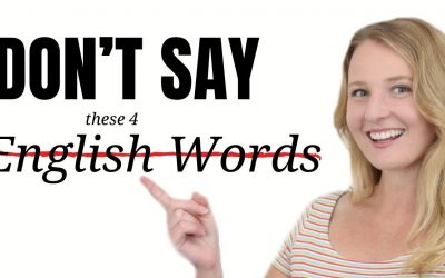 AVOID Repeating These 4 English Words in Daily English Conversation