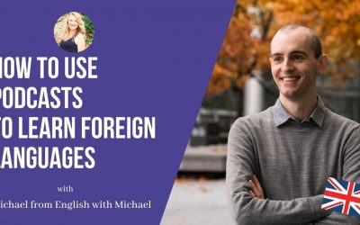 English with Michael: How to use podcasts to learn foreign languages!
