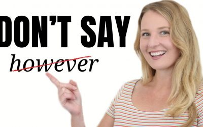 "Stop saying ""HOWEVER""! Learn Alternative Advanced English Phrases and Expressions!"